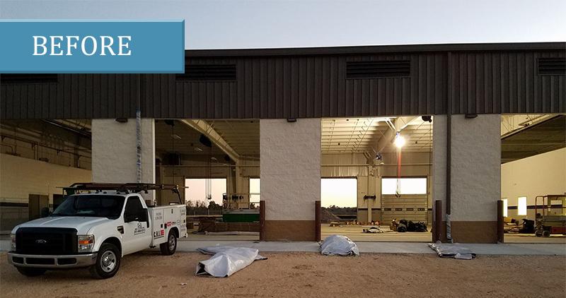 commercial garage doors mobile al